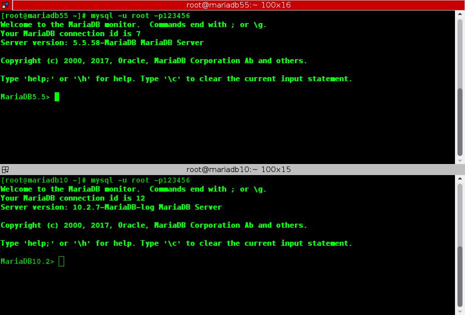 MariaDB 5.5 กับ MariaDB 10.2 ใครเร็วกว่ากัน